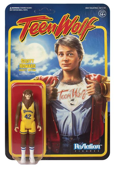 TEEN WOLF 1985 BASKETBALL SCOTT REACTION FIGURE (Net) (C: 1-