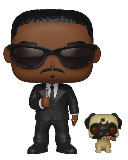 POP & BUDDY MEN IN BLACK AGENT J & FRANK VINYL FIG (C: 1-1-2