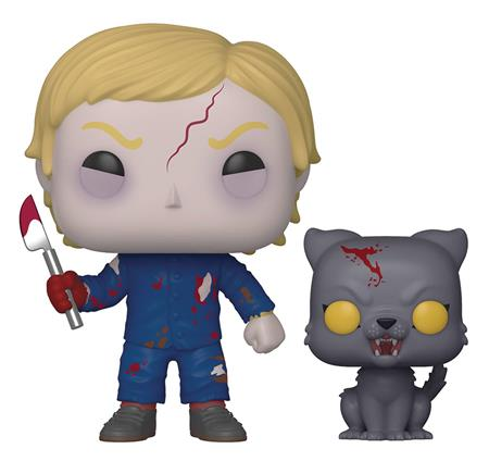 POP & BUDDY PET SEMATARY UNDEAD GAGE & CHURCH VINYL FIG (C: