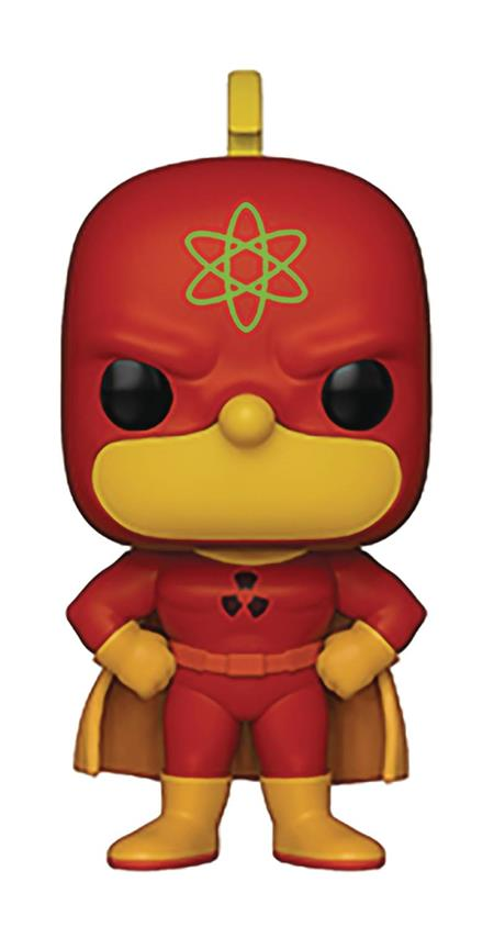 POP ANIMATION SIMPSONS S2 HOMER-RADIOACTIVE MAN VINYL FIGURE