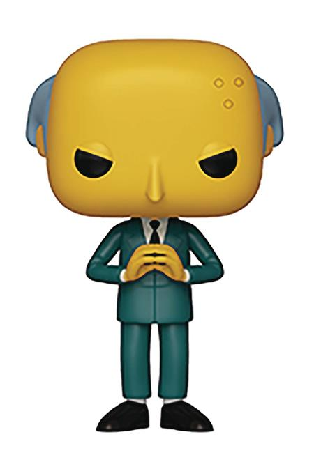 POP ANIMATION SIMPSONS S2 MR BURNS VINYL FIGURE (C: 1-1-2)