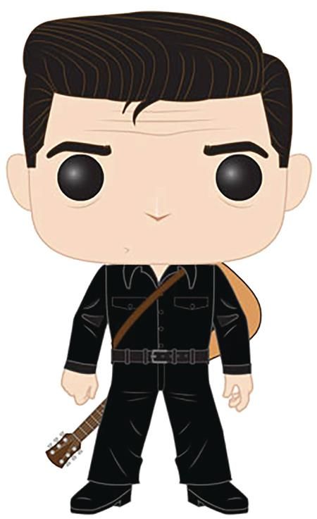 POP ROCKS JOHNNY CASH IN BLACK VINYL FIGURE (C: 1-1-2)