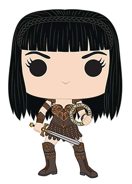 POP TV XENA WARRIOR PRINCESS VINYL FIG (C: 1-1-2)