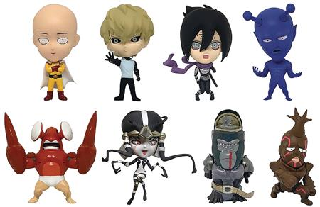 ONE PUNCH MAN VOL 1 16D COLL FIG 8PC BMB DS (C: 1-1-2)