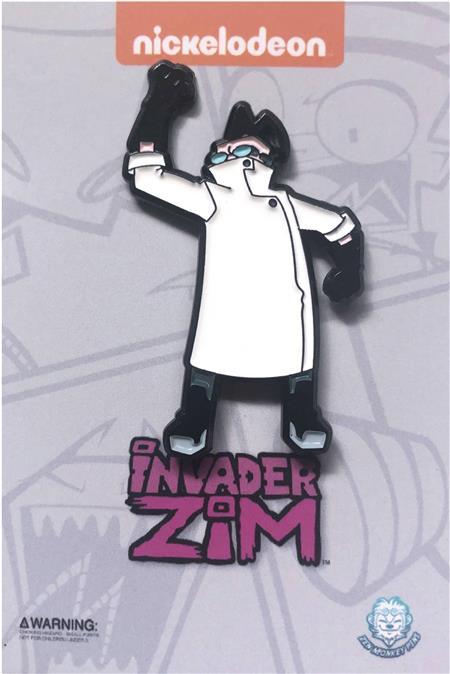 INVADER ZIM PROFESSOR MEMBRANE PIN (C: 1-1-2)