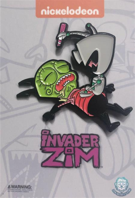 INVADER ZIM SLEEPING ZIM PIN (C: 1-1-2)