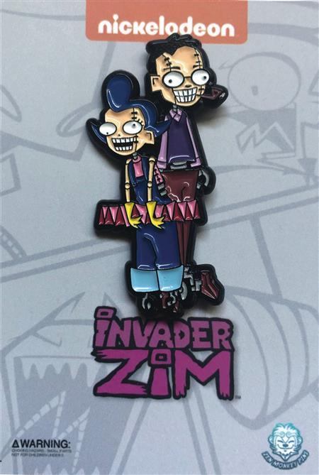 INVADER ZIM ZIMS ROBOT PARENTS PIN (C: 1-1-2)