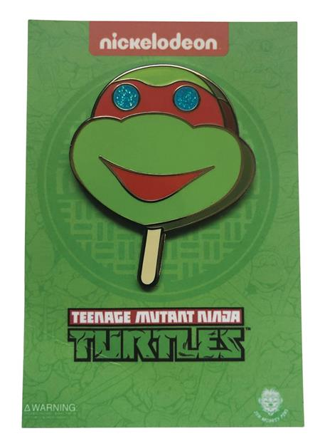 TEENAGE MUTANT NINJA TURTLES TURTLE POPSICLE PIN (C: 1-1-2)