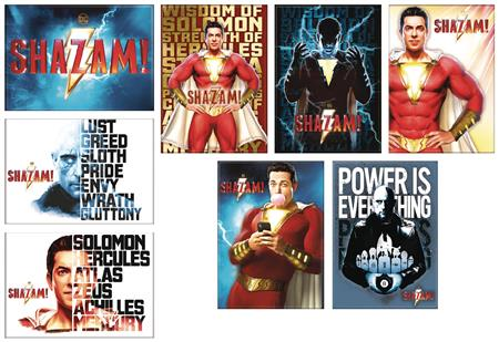 SHAZAM MOVIE 48PC MAGNET ASST (C: 1-1-2)
