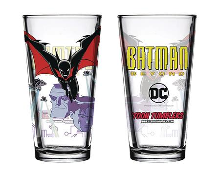 TOON TUMBLERS BATMAN BEYOND PINT GLASS (C: 1-1-2)
