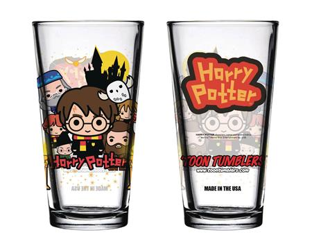 TOON TUMBLERS HARRY POTTER CHARM CASTLE GLASS (C: 1-1-2)