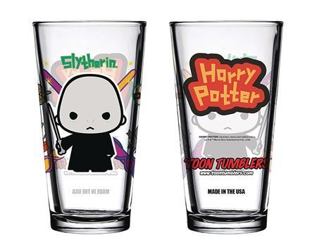 TOON TUMBLERS HARRY POTTER CHARM VOLDEMORT GLASS (C: 1-1-2)