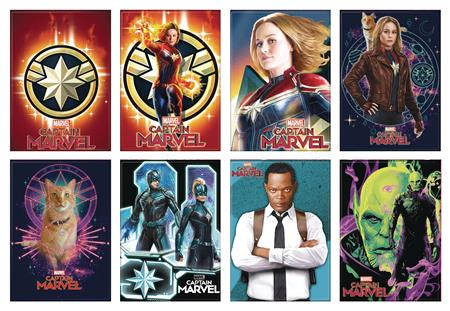 CAPTAIN MARVEL MOVIE 48PC MAGNET ASST (C: 1-1-2)