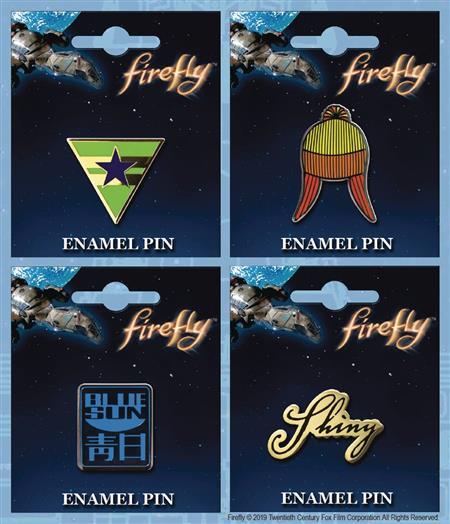 FIREFLY ENAMEL PIN 12CT ASST (C: 1-1-1)