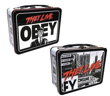THEY LIVE OBEY TIN TOTE (C: 1-1-2)