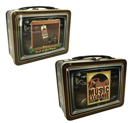 BLUES BROTHERS RAYS MUSIC EXCHANGE TIN TOTE (C: 1-1-2)