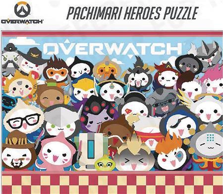 OVERWATCH PACHIMARI HEROES 1000PC PUZZLE (C: 1-1-2)