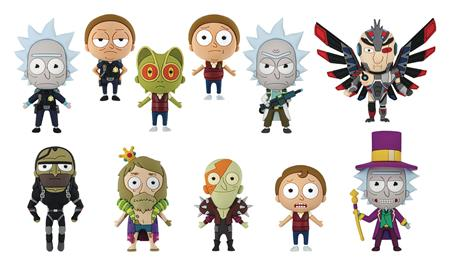 RICK AND MORTY SERIES 3 FIGURAL KEYRING 24PC BMB DS (C: 1-1-