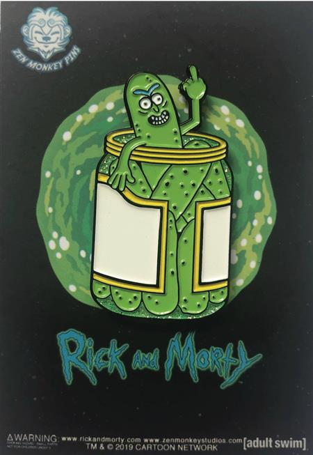 RICK AND MORTY PICKLE RICK JAR PIN (C: 1-1-2)