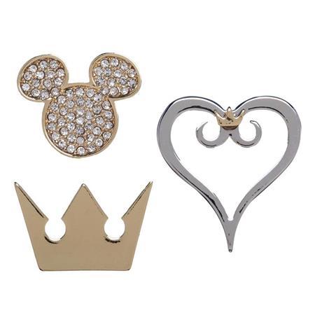 KINGDOM HEARTS 3PC LAPEL PIN SET (C: 1-0-2)