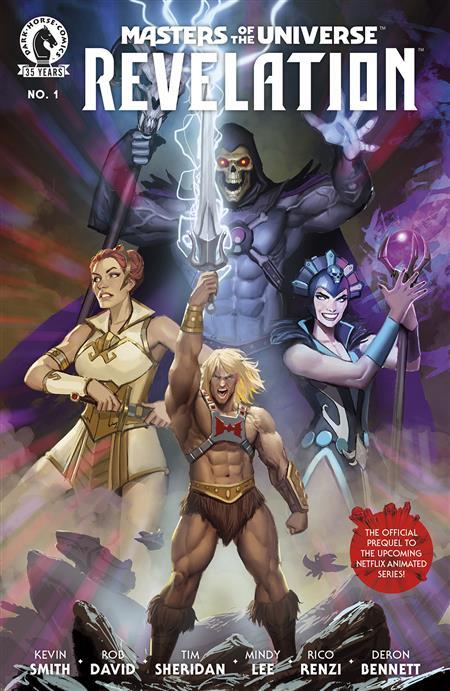 MASTERS OF THE UNIVERSE REVELATION #1 (OF 4) CVR A SEJIC