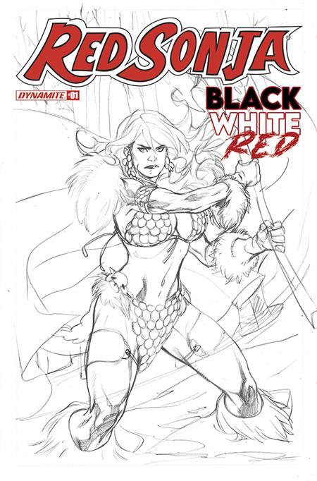 RED SONJA BLACK WHITE RED #1 CVR G 20 COPY INCV LUPACCHINO L