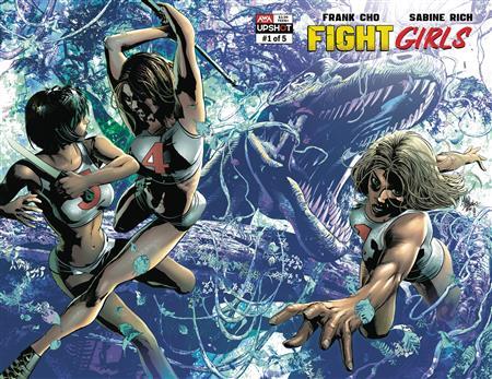FIGHT GIRLS #1 CVR B DEODATO JR