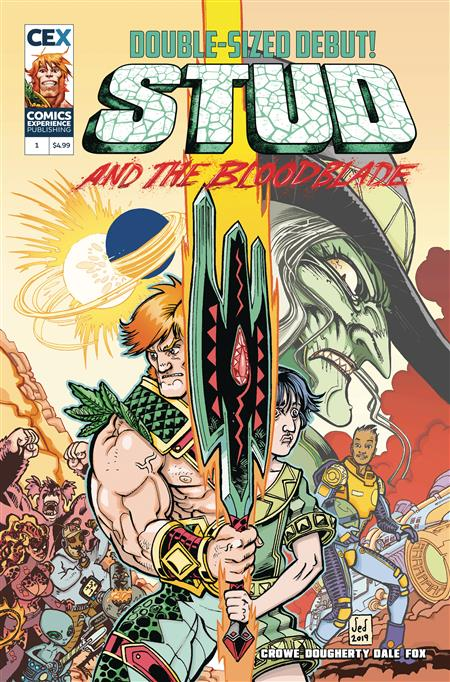 STUD & THE BLOODBLADE #1 (OF 3) CVR A DOUGHERTY (MR)
