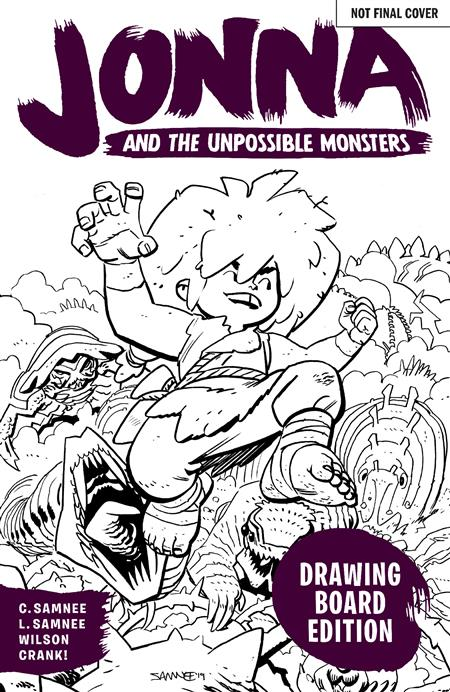 JONNA AND THE UNPOSSIBLE MONSTERS #1 DRAWING BOARD ED