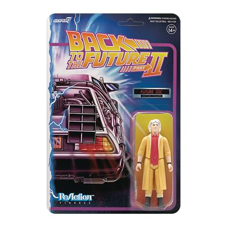 BACK TO THE FUTURE 2 DOC BROWN REACTION FIGURE (Net) (C: 1-1