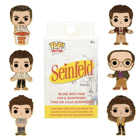 MYSTERY MINIS SEINFELD ALL CHARACTER POP 12PC BMB DISP (C: 1