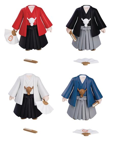 NENDOROID MORE DRESS UP COMING OF AGE HAKAMA 4PC BMB DS (C: