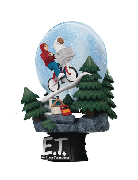 E.T. THE EXTRA-TERRESTRIAL DS-089 D-STAGE SER 6IN STATUE (C: