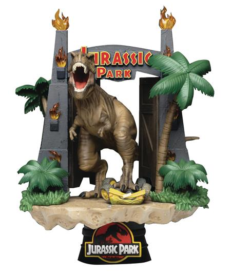 JURASSIC PARK DS-088 PARK GATE D-STAGE 6IN STATUE (C: 1-1-2)