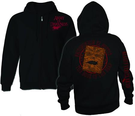 Aod Necronomicon PX Zip Hoodie Lg (O/A) (C: 1-1-1
