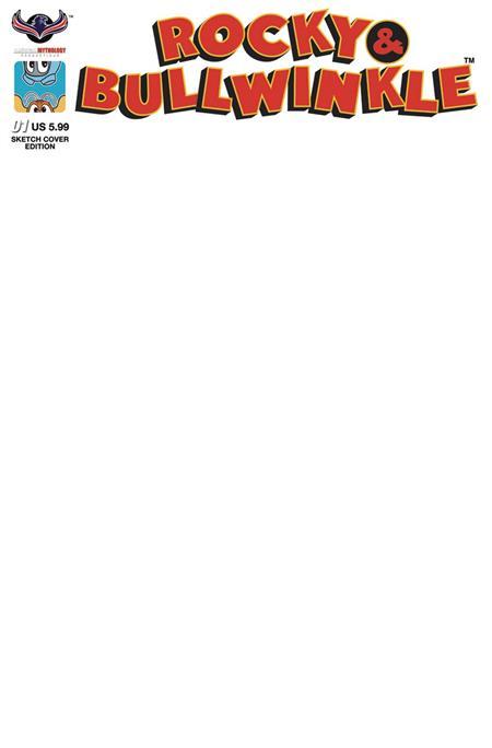 ROCKY & BULLWINKLE SHOW #1 BLANK CVR