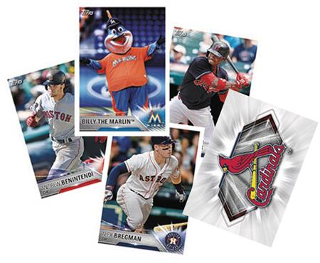 Topps 2018 Baseball Sticker Coll Album Dis (Net) (C: 1-1-1