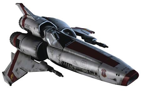 BATTLESTAR GALACTICA SHIPS MAG #1 VIPER MK II (C: 0-1-2)
