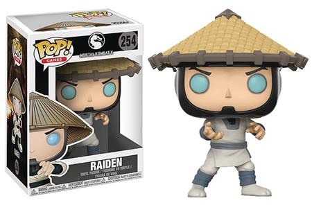 POP MORTAL KOMBAT RAIDEN VINYL FIGURE (C: 1-1-2)