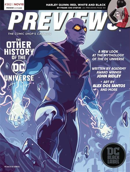 PREVIEWS #364 JANUARY 2019 * Includes a FREE DC Previews