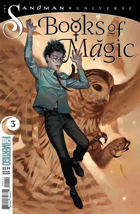 BOOKS OF MAGIC #3 (MR)