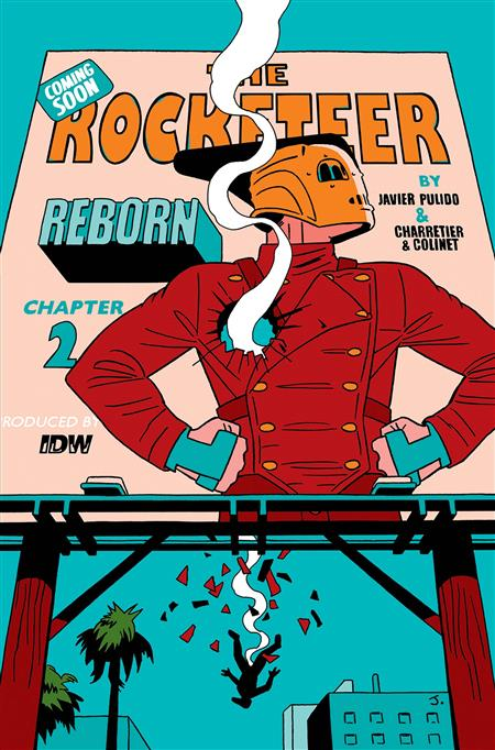 ROCKETEER REBORN #2 PULIDO