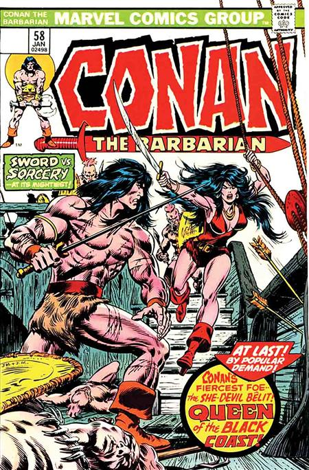 TRUE BELIEVERS CONAN QUEEN OF BLACK COAST #1