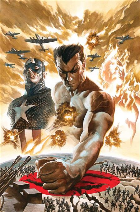 INVADERS #1 BY ALEX ROSS POSTER