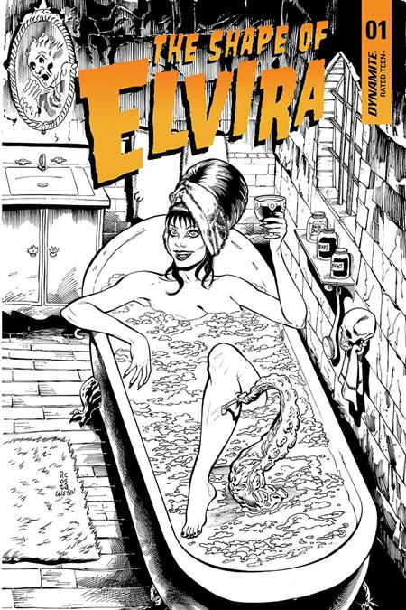 ELVIRA SHAPE OF ELVIRA #1 30 COPY ACOSTA B&W INCV (Net)