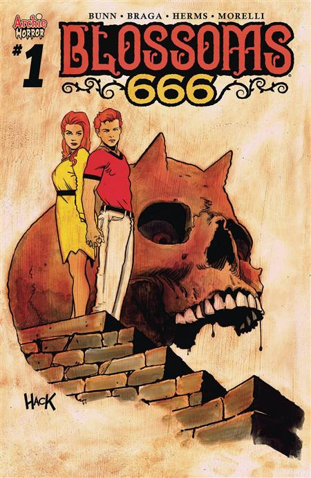 BLOSSOMS 666 #1 CVR D HACK