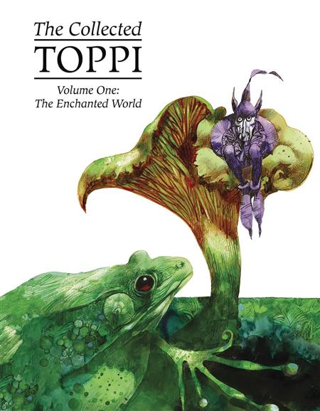 COLLECTED TOPPI HC VOL 01 ENCHANTED WORLD