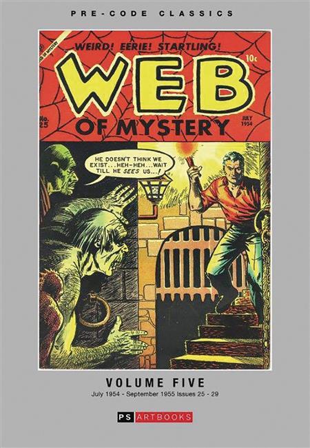 PRE CODE CLASSICS WEB OF MYSTERY HC VOL 05 (C: 0-1-1)