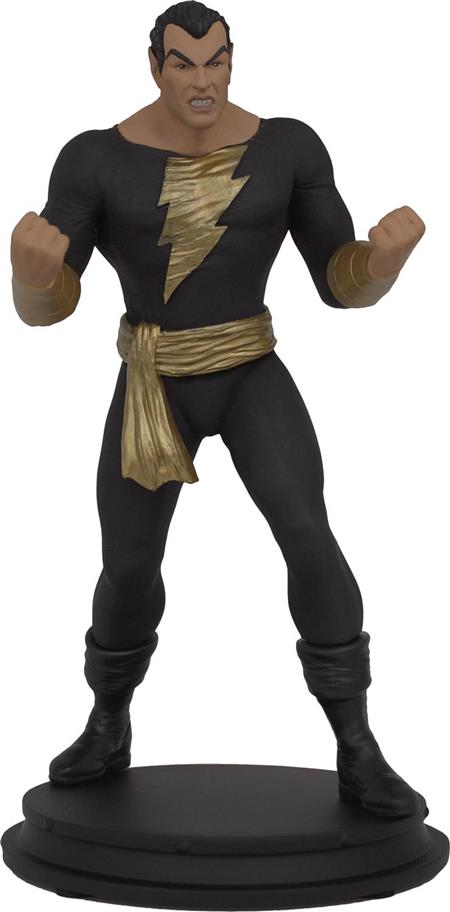 DC HEROES BLACK ADAM 1/9 SCALE POLYSTONE STATUE (C: 1-1-2)