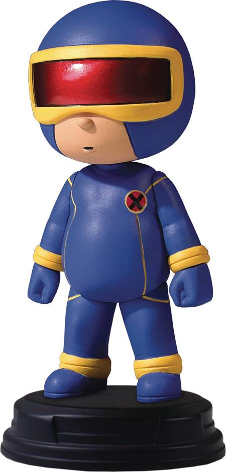 MARVEL ANIMATED STYLE CYCLOPS STATUE (Net) (C: 0-1-2)